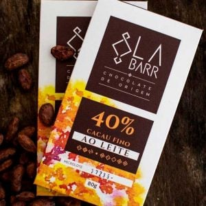 Chocolate 40% cacau 80g e 30g