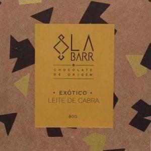 EXÓTICO: Chocolate 55% com Leite de Cabra 80g